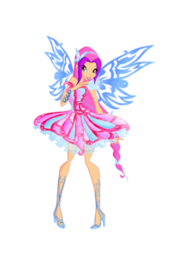 Can I please join? Name: Leah (Princess) Status: Fairy Planet: Linphea Power: Wind Hair: Light P