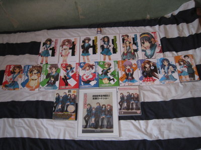 This is how my collection looked back in February 17, 2012. I know it's not that much, but that was l