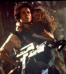 Ellen Ripley (in the Alien series) She's a luar angkasa engineer, a mother, and she kills aliens (but only