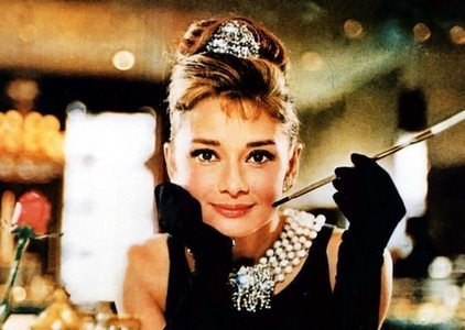 Audrey Hepburn, because she's a vivid actress and extraordinary on that front and her birthday falls