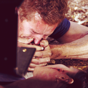 Mark & Lexie ... Lexie Dies & Mark Holds Her Hand ='O