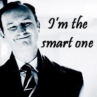 Black & White {Mycroft Holmes}