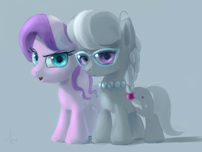 I certainly do. Here's Diamond Tiara and Silverspoon