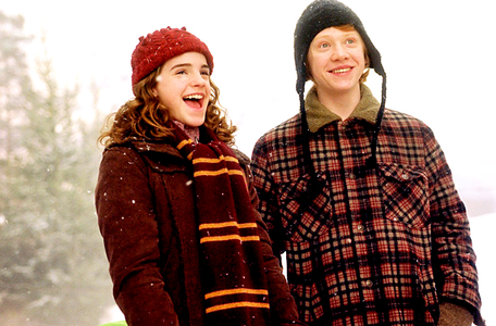 [b]23. Which character are আপনি most like? [i]Hermione অথবা Ron, I really can't decide between the t