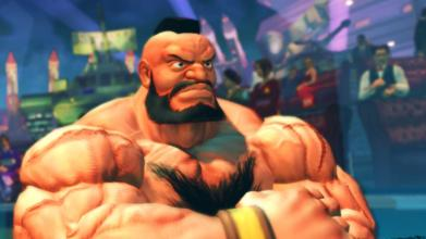 Zangief from jalan, street Fighter