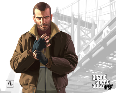 Niko Bellic from Grand Theft Auto 4