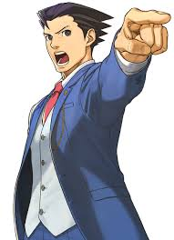 Phoenix Wright from Phoenix Wright Ace Attorney