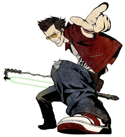 Travis Touchdown from No lebih heroes