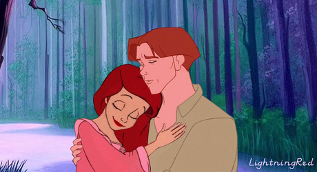 Thoriel forever! Thomas already wears green and Ariel can wear red. :3