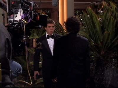 Matthew Lawrence behind the scenes in The Hot Chick.
