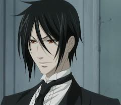sebastian:*steps out of the phantomhive carriage with ciel*.*sees grell then sighs with dissapointmen