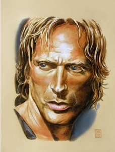 NEW!!!! Want to send a personalized art William Fichtner Greeting বড়দিন Card? Send me your favori