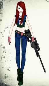 Name (say if unknown): Rene Kenna Oshea (known) Hero name: none Age: 17 Appearance: red hair, pale