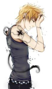Name:roxas Age:15 Gender:male Personality:helpful,lazy a bit, very fun to have around Type of key