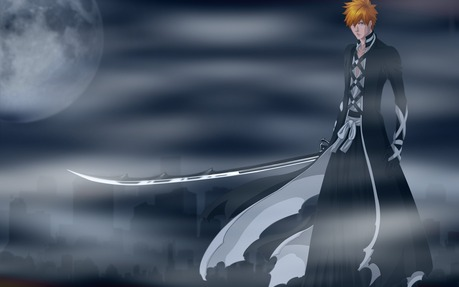 u guyz really forgot who u real hero is........ichigo kurosaki.............. he is the combination o