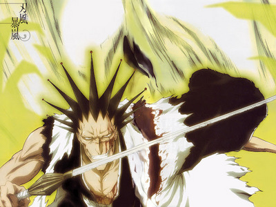 huh u want resolve,well here is the master lol. who only live to fight kenpachi zaraki.