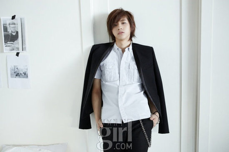 My bias is CNU <3 Because he has a great personality and his smile is gorgeous. It&#39;s a bit weird th