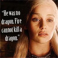 <b>Round 3 theme - Daenerys Targaryen</b>