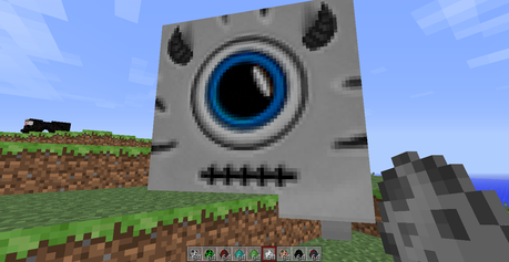 This is a Ghast on the texture pack I used to use :P XD