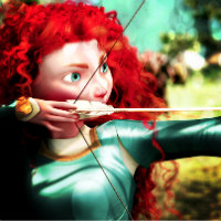 this is miiine. first Merida 图标 I've made!