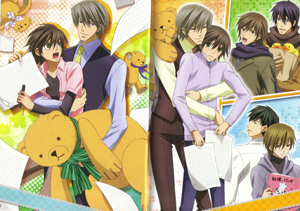 It was Junjou Romantica AMV which really caught my eye ^^