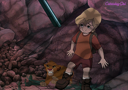 cody and simba in a poacher's trap
