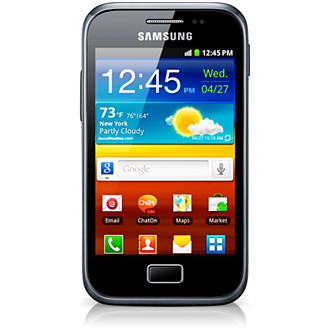 Samsung Galaxy Ace Plus. Here's a picture Have u seen The Sound of Music? If so, what do u thi