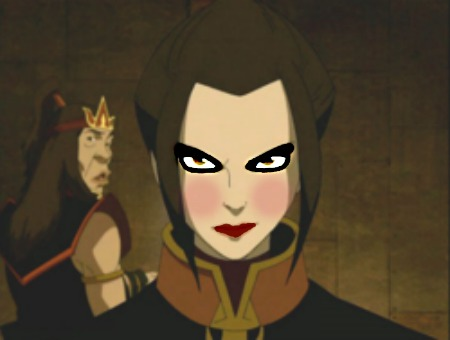 Some, yes. Some, no. How do bạn like this gần đây chỉnh sửa I did of Azula? (I wanted to make her look a