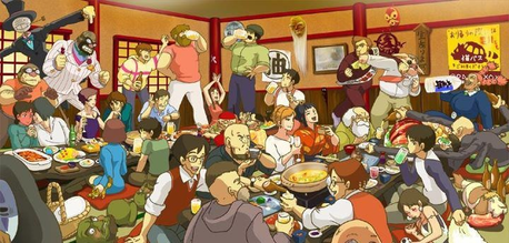 studio Ghibli all the way! Every character, especially those amazing females! Also, Korean celebrit