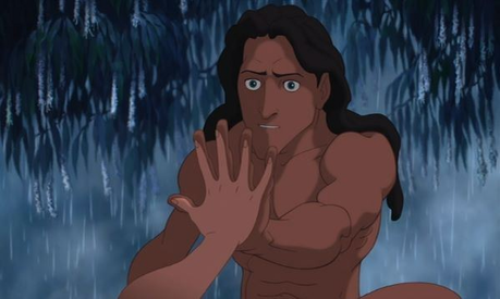 Day 25 - Favorite scene from your favorite movie: Jane meets Tarzan (Tarzan)