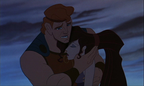"Day 26 - Saddest death: Either Bambi's mother's death or Megara's ""death"" (if it counts) in Hercules."
