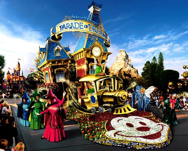 DAY 30 - Your favorite theme park show.  I only now the 20's anniversary parade.