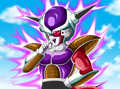 My favoriete villain is Frieza. He was the original main villain of dbz and he didnt have pretty much