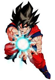 'ONDA ENERGETICAAAAAAAAAAAAAA' xd (SORRY I'M ITALIAN)...in english i think is Kamehameha
