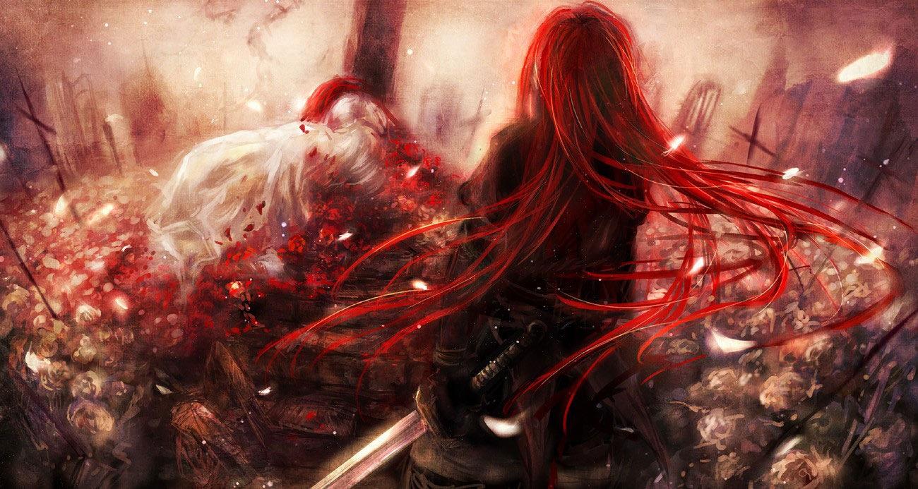 Рыжие девушки волосами вид сзади 19 фотография