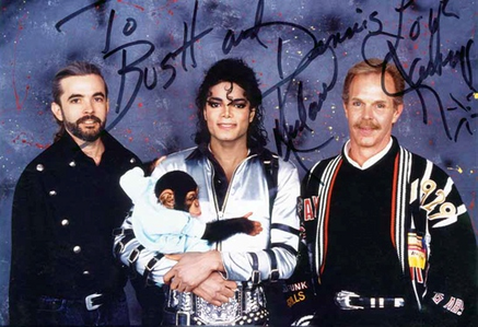 These three MJ Marafiki deserve to be on this page! Michael Bush, Dennis Tompkins and Bubbles! =)