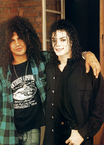 Michael and Slash...