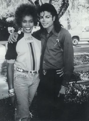 Michael and good friend, Whitney Houston at Neverland Ranch back in 1989