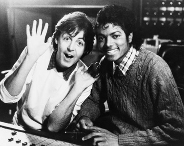Michael and Paul McCartney...