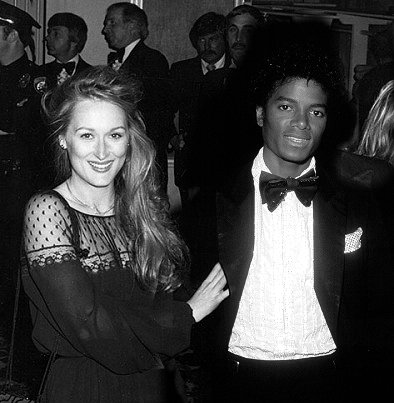 MJ with Meryl Streep :)