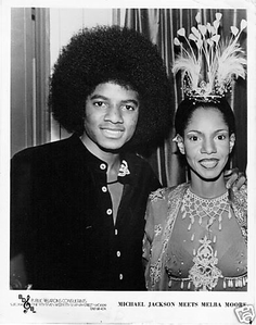 MJ and Melba Moore
