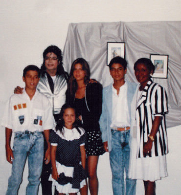 MJ and Julio Iglesias's sons
