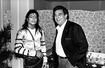 MJ and Placido Domingo :)