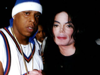 Michael and Jay Z