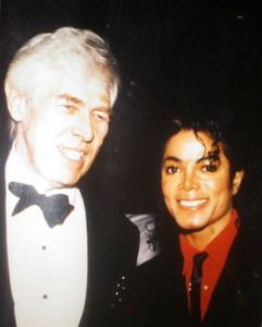 MJ and James Coburn