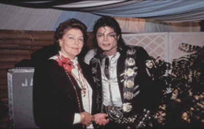 MJ and Ava Gardner