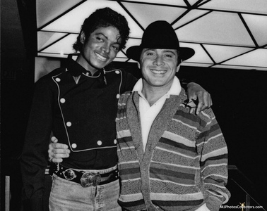 Michael and Paul Anka
