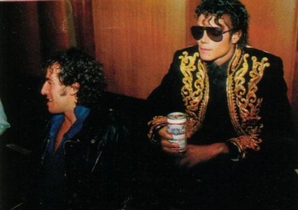 """The King"" and ""The Boss"", Michael and Bruce Springsteen..."