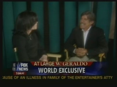 Michael and Geraldo Rivera