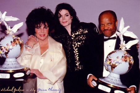 Jackson Family Honors Awards 1994